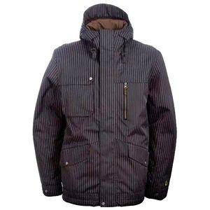 Burton Snowboard Ski Jacket GMP Esquire Pinstripe